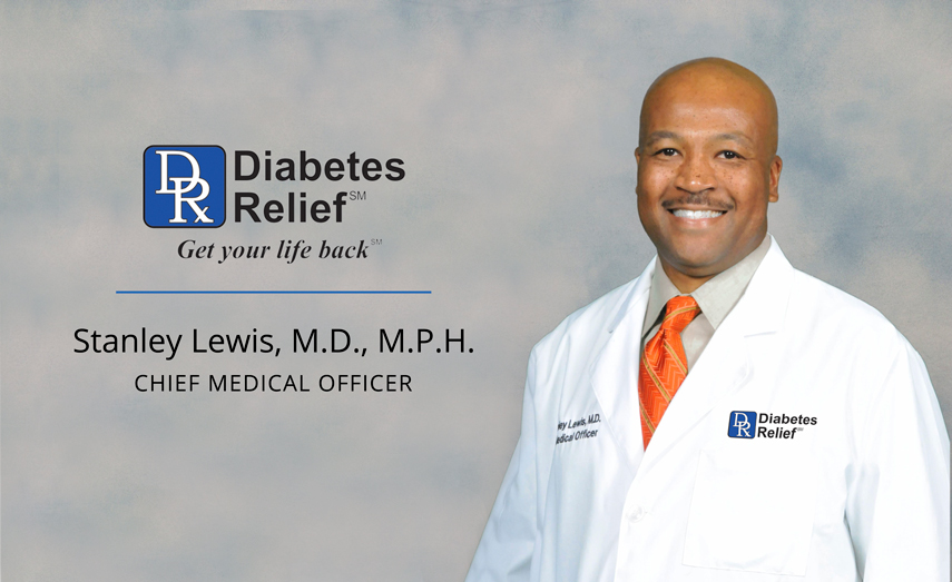 Feature: Diabetes Relief Chief Medical Officer Dr. Stanley Lewis